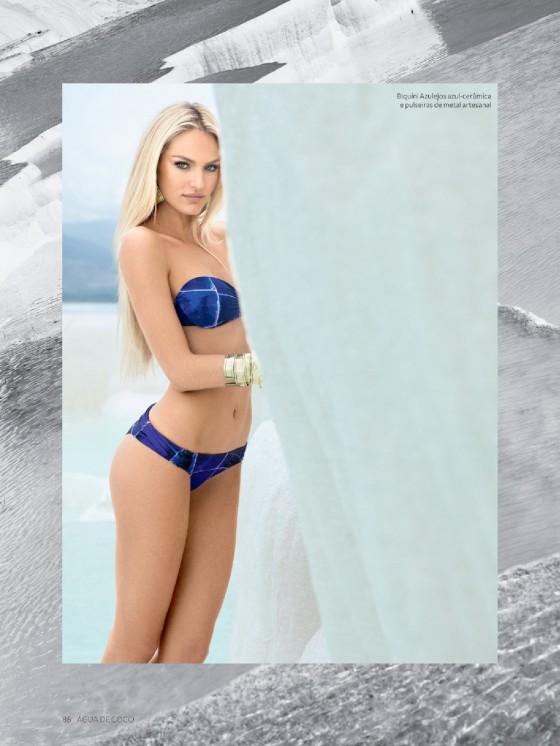 Candice Swanepoel – Agua De Coco Brazil (Summer 2013) -14