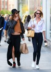 Candice Swanepoel and Behati Prinsloo out in SoHo -01