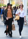 Candice Swanepoel and Behati Prinsloo out in SoHo -02