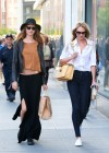 Candice Swanepoel and Behati Prinsloo out in SoHo -03