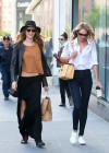Candice Swanepoel and Behati Prinsloo out in SoHo -04