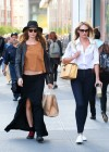 Candice Swanepoel and Behati Prinsloo out in SoHo -06
