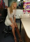 Candice Swanepoel at i93 Radio-01