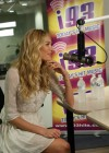 Candice Swanepoel at i93 Radio-02