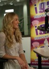 Candice Swanepoel at i93 Radio-03