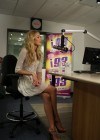 Candice Swanepoel at i93 Radio-05
