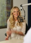 Candice Swanepoel at i93 Radio-08