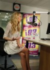 Candice Swanepoel at i93 Radio-10