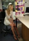 Candice Swanepoel at i93 Radio-12