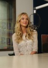 Candice Swanepoel at i93 Radio-14