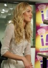 Candice Swanepoel at i93 Radio-16