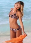 Candice Swanepoel shows off her bikini body in St Barts