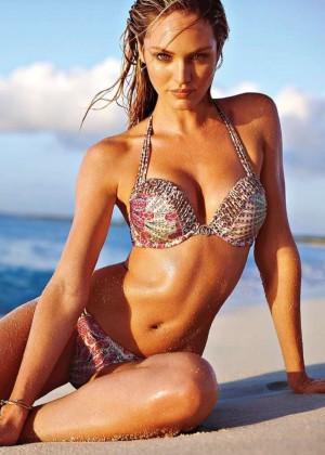 Candice Swanepoel: VS Bikini Shoot 2014 -03