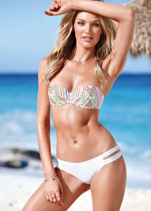 Candice Swanepoel: VS Bikini Shoot 2014 -09
