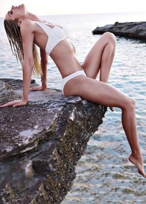 Candice Swanepoel: VS Bikini Shoot 2014 -12
