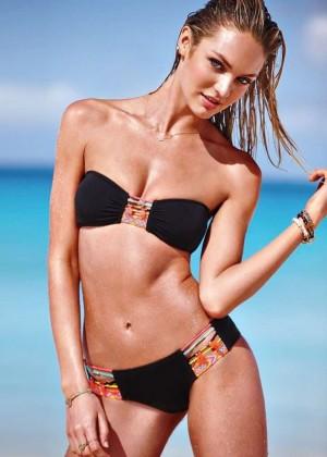 Candice Swanepoel: VS Bikini Shoot 2014 -16