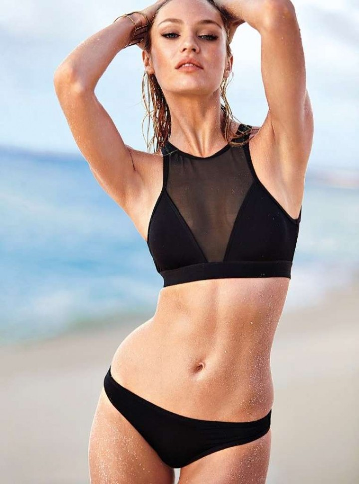 Candice Swanepoel: VS Bikini Shoot 2014 -17 - GotCeleb