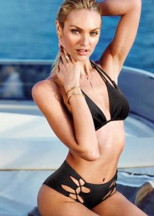 Candice Swanepoel: VS Bikini Shoot 2014 -18