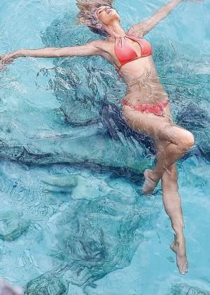 Candice Swanepoel: VS Bikini Shoot 2014 -20