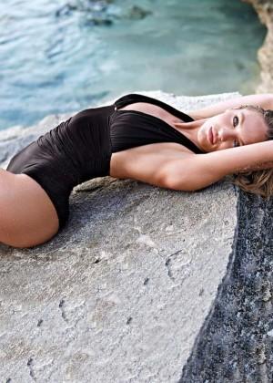 Candice Swanepoel: VS Bikini Shoot 2014 -23