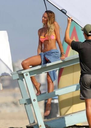 Candice Swanepoel Hot Bikini Shoot -17