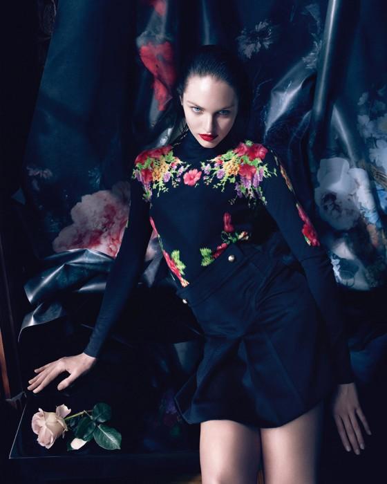 Candice Swanepoel – Blumarine Campaign by Camilla Akrans 2013 -02