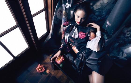 Candice Swanepoel – Blumarine Campaign by Camilla Akrans 2013 -08