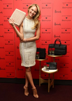 Candice Swanepoel: Bottletop collection launch in London  -10