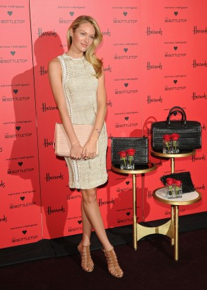 Candice Swanepoel: Bottletop collection launch in London  -13