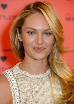 Candice Swanepoel: Bottletop collection launch in London  -14