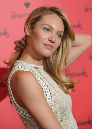 Candice Swanepoel: Bottletop collection launch in London  -18