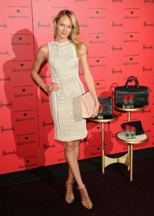 Candice Swanepoel: Bottletop collection launch in London  -22