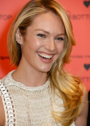 Candice Swanepoel: Bottletop collection launch in London  -25