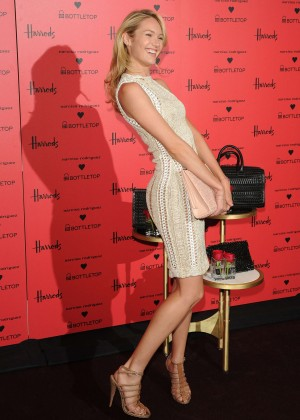 Candice Swanepoel: Bottletop collection launch in London  -27