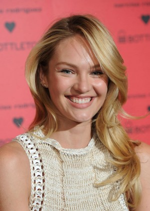 Candice Swanepoel: Bottletop collection launch in London  -28