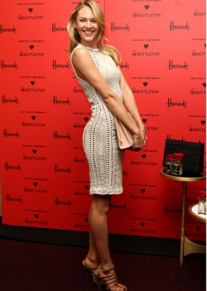 Candice Swanepoel: Bottletop collection launch in London  -29