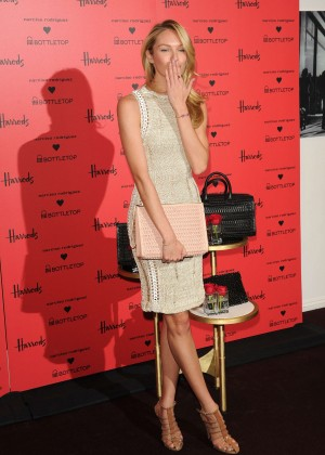 Candice Swanepoel: Bottletop collection launch in London  -31