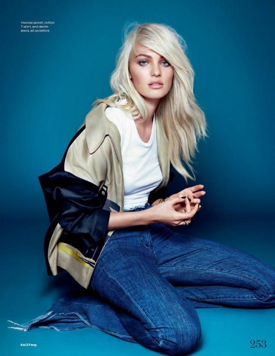 Candice Swanepoel – Elle Magazine UK (December 2013)