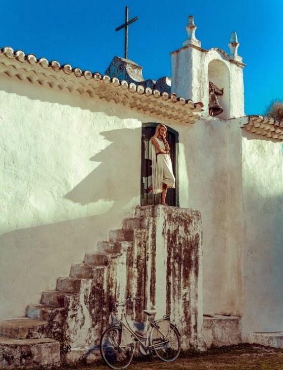 Candice Swanepoel: Vogue Magzine 2014 -01
