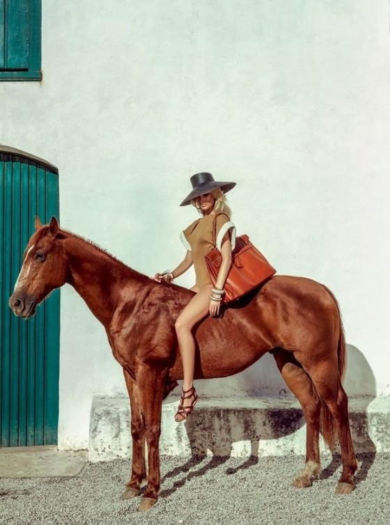 Candice Swanepoel: Vogue Magzine 2014 -02