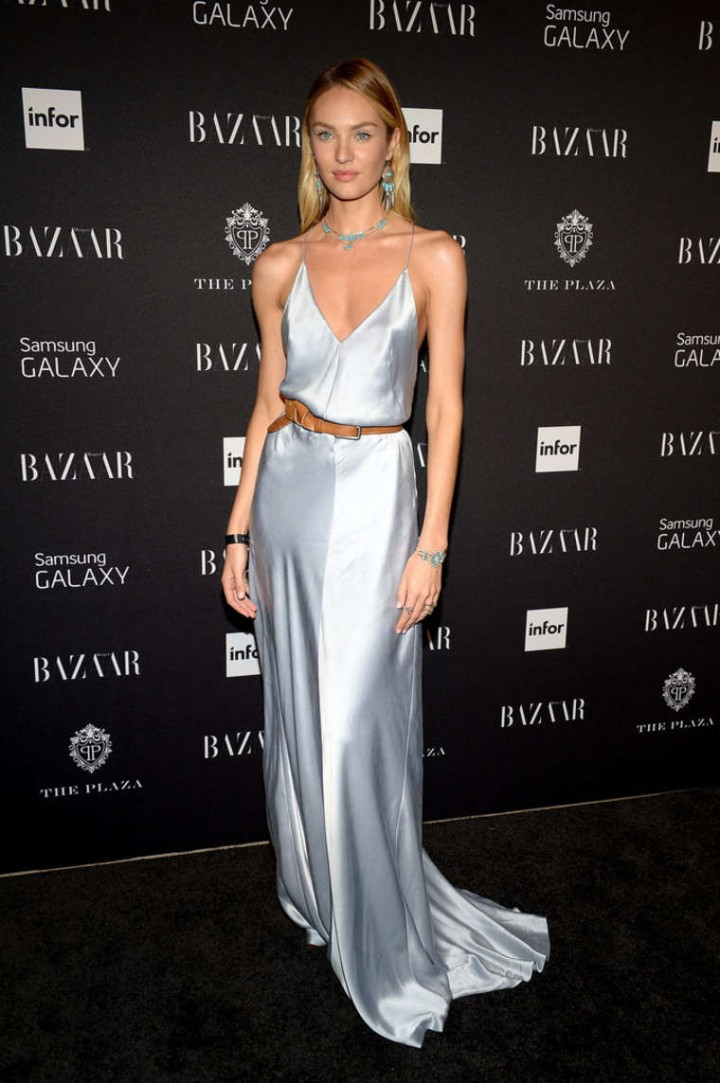 Candice Swanepoel - Harper's BAZAAR Celebrates Icons By Carine Roitfeld Event in NYC