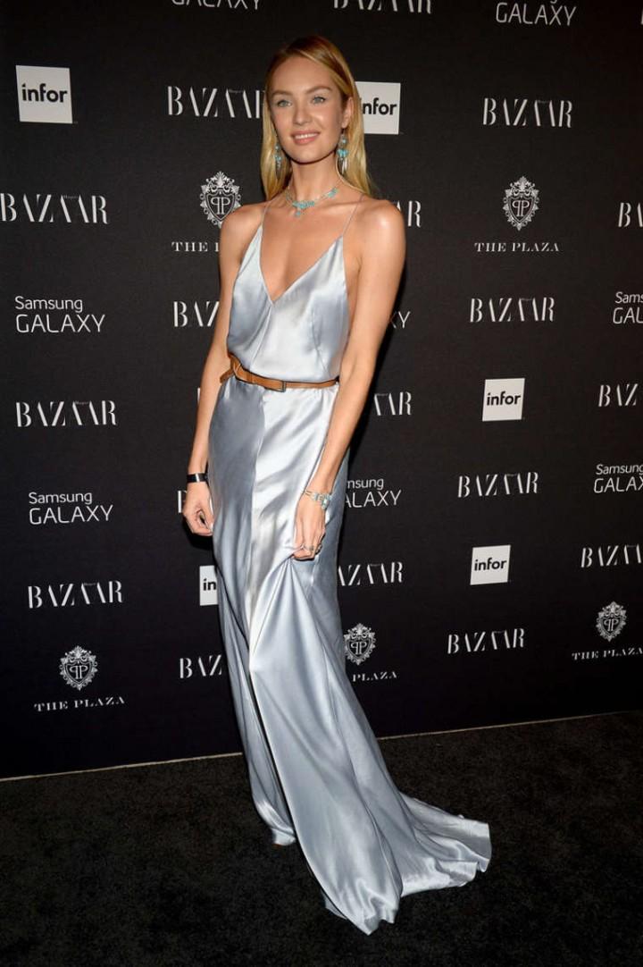 Candice Swanepoel 2014 : Candice Swanepoel: Harpers Bazaar Celebrates ICONS Event -02