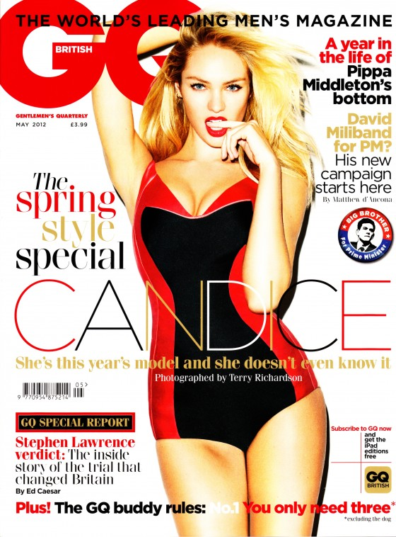 Candice Swanepoel shows her hot body for GQ 2012