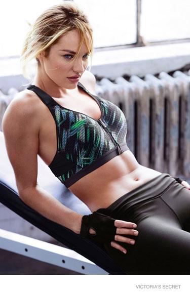 Candice Swanepoel 2014 : Candice Swanepoel and Lily Aldridge: VS Sport Catalogue 2014 -02