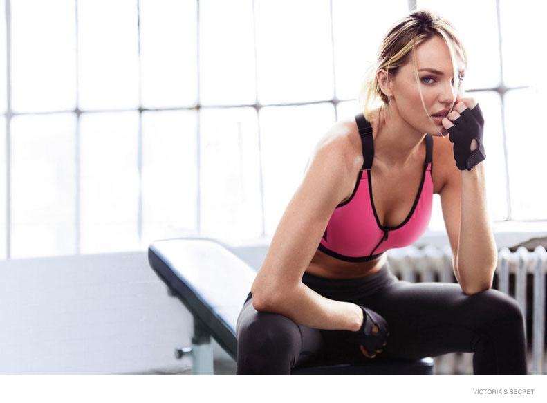 Candice Swanepoel 2014 : Candice Swanepoel and Lily Aldridge: VS Sport Catalogue 2014 -06