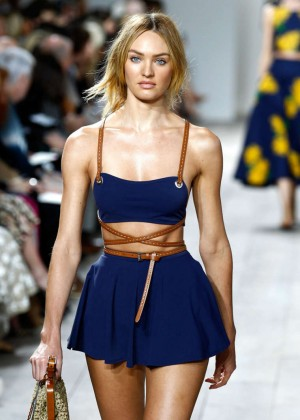 Candice Swanepoel - Michael Kors Fashion Show in NYC