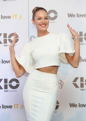 Candice Swanepoel - Promote Kloud Camp MX 'Kio Networks' 2014 in Mexico