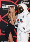 Candice Swanepoel Shows of her legs at Rolling Stone LIVE party