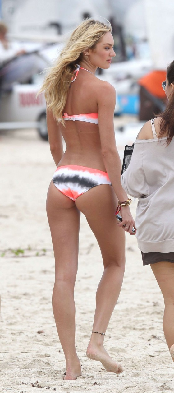 Candice Swanepoel – VS 2012 Bikini Photoshoot-14