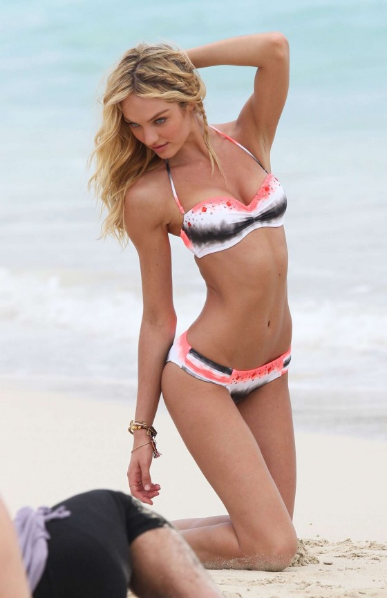 Candice Swanepoel – VS 2012 Bikini Photoshoot-17
